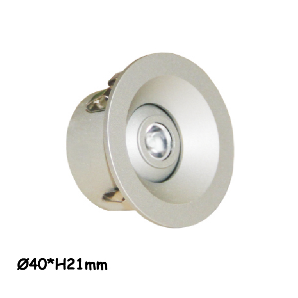 LED cabinet spotlight 1 watt