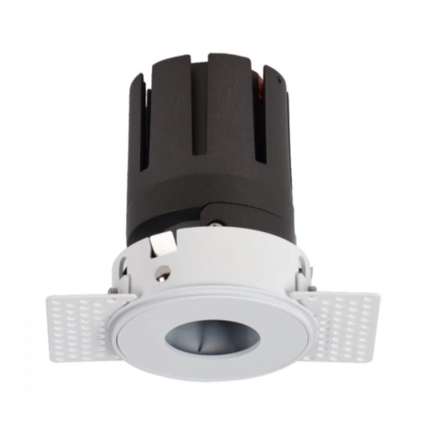 360 deg rotatable LED spotlight with no frame