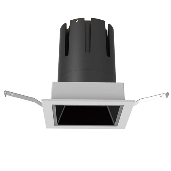 Rotatable Square LED Ceiling Spotlight